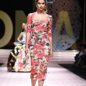 Dolce & Gabbana Rose Dress